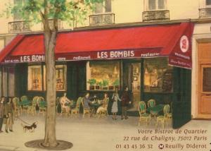 Carte postale Les Bombis