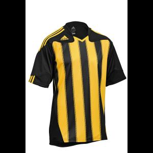 Maillot-manches-courtes-Adidas-Stricon-noir-jaune