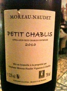 Petit Chablis Moreu-Naudet © Blandine Vié