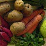 Étal de légumes via e.vous