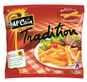 Frites Mc Cain via oursocialmedia.com
