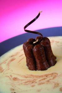 Petits moelleux au chocolat noir © Michel Cluizel