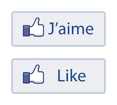 Logo J'aime - Like via leblogdepetitfred.com