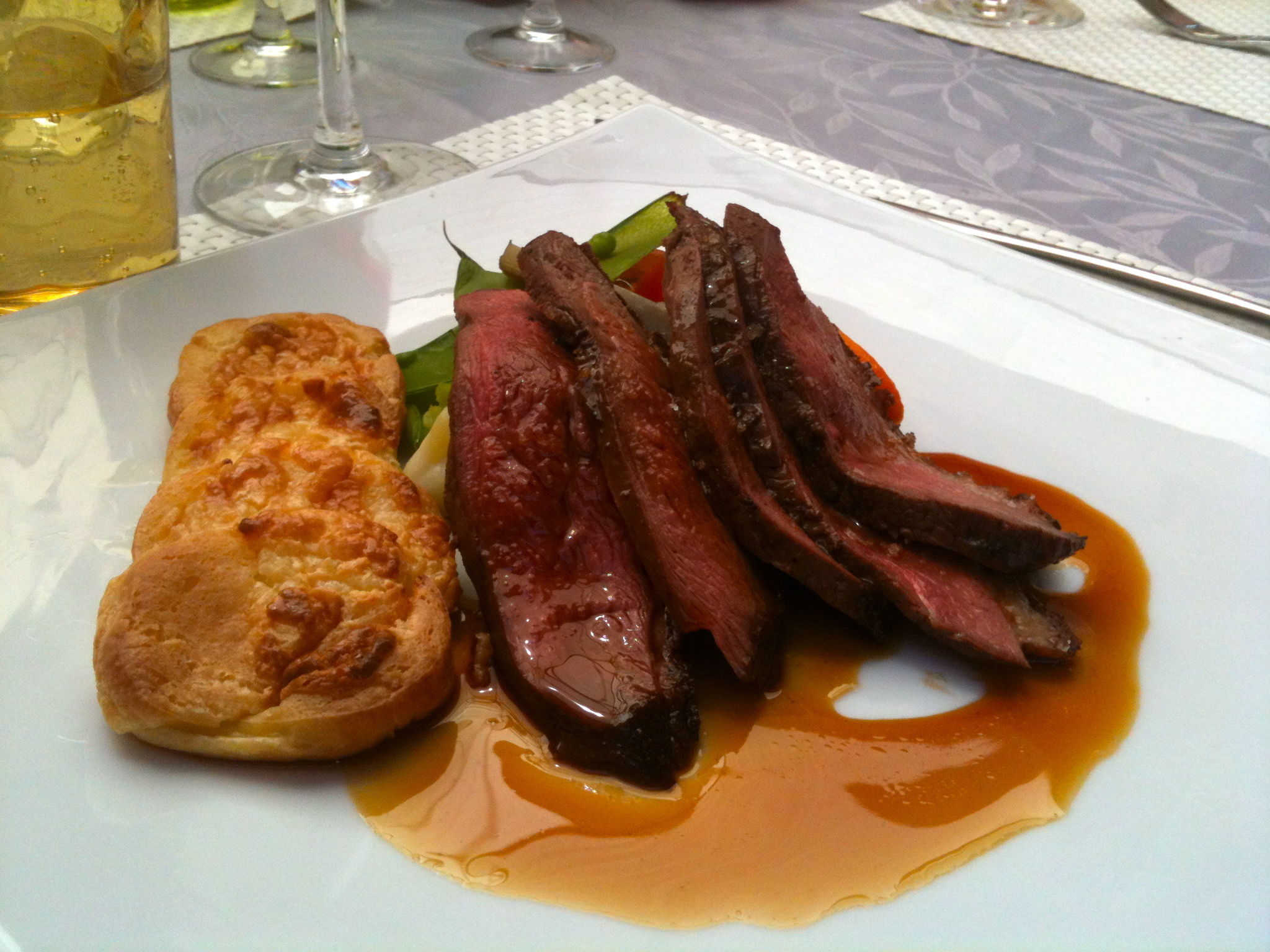 Christophe beucher for Quels legumes avec magret canard