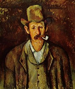 Paul Cézanne, le fumeur de pipe via commons.wikipedia.org