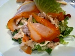 Salade de haddock et crabe © Blandine Vié
