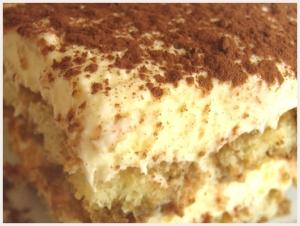 Tiramisu via gateau.com