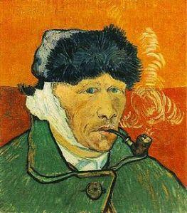 Van Gogh autre autoportrait via fr.wikipedia.org