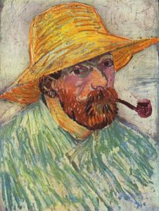 Vincent Van Gogh, autoportrait via commons.wikimedia.org