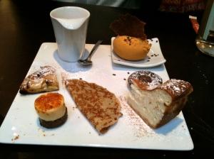Café gourmand © Blandine Vié