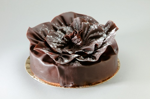 Collerette en chocolat via patisserie-fournier.com
