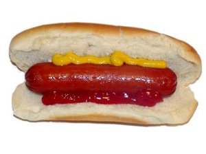Hot dog via biofamily-fr.blogspot.com