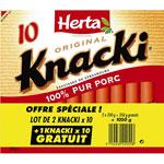 Knacki avec E 120 via prixing.com