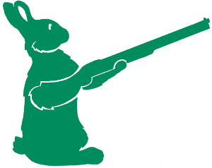 Lapin chasseur via atomistickers.fr