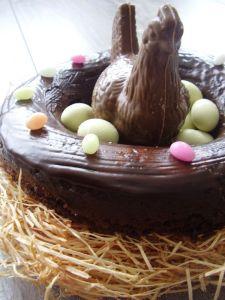 Poule en chocolat via boudloune.canalblog.com
