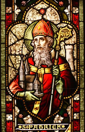 Saint-Patrick via fr.wikipedia.org