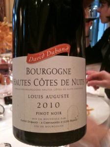 Bourgogne Hautes Côtes de Nuits, domaine Durand 2010 © Blandine Vié