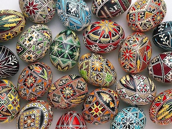 Les petits papiers de Nadezda: Oeufs de Pâques !