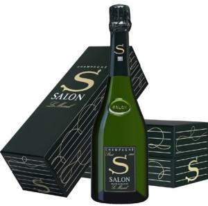 Coffret champagne Salon via cave-spirituelle.com