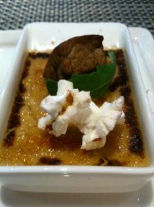 Crème brûlée au foie gras © Blandine Vié