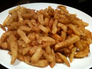 Plat de frites © Blandine Vié