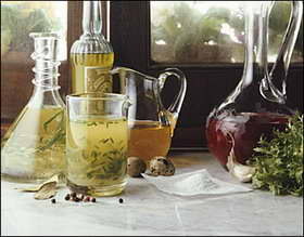 Vinaigres aromatisés via quran-m.com