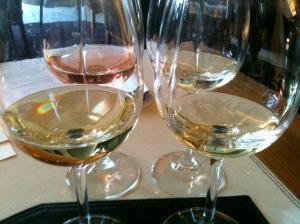 3 blancs et un rosé © Blandine Vié