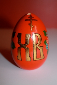 Œuf pour la Pâque russe pile © Coralie Marcadé