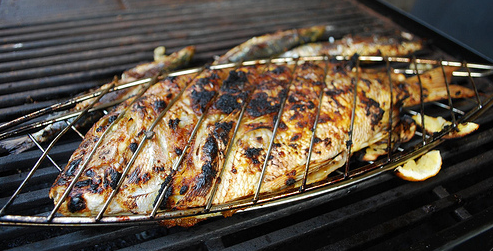 Grillades - Accompagnement poisson grille barbecue ...