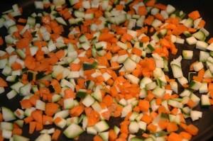 Brunoise de légumes via assiettesgourmandes.fr