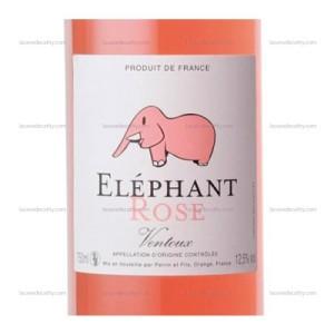 Éléphant rosé Perrin & Fils via lacavedecathy.com