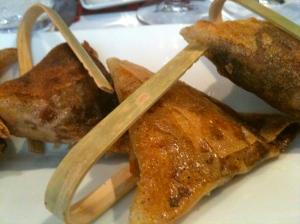 Croustillant de ris de veau aux morilles © Blandine Vié
