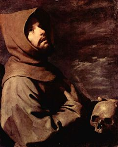 Francisco de Zurbaran via cemondeetrange.vip-blog.com