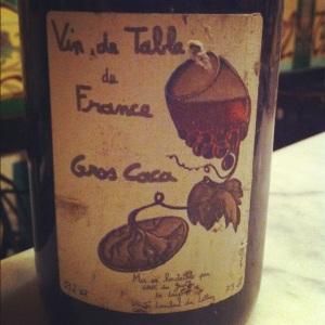 Gros caca via vigne-et-vin.org