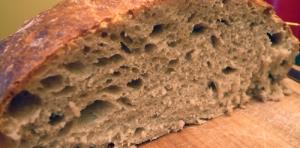 Mie de pain de campagne via culinopathe.fleur.net