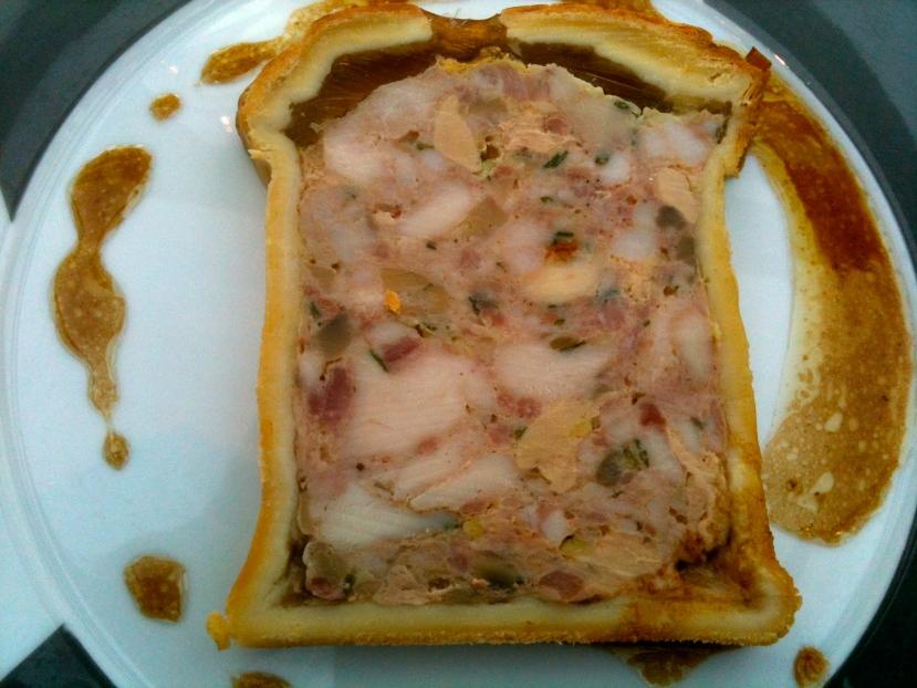 Pâté en croûte au foie gras de Gilles Vérot © Greta Garbure