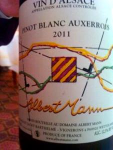 Pinot blanc auxerrois © Patrick de Mari