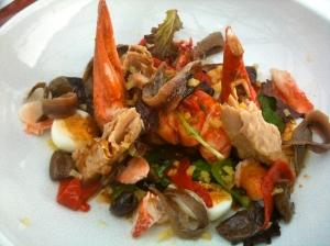 Salade de homard façon niçoise © Blandine Vié