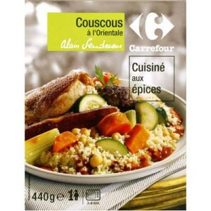 Couscous à l'orientale via testntrust.fr