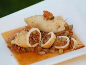 Encornets farcis via la-recette-de-cuisine.com