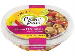 Olives à l'orientale via dunouveauencuisine.com