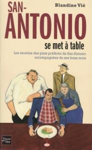 Couv San-Antonio se met à table Fleuve Noir