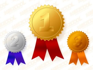 Médailles via fr.freepik.com