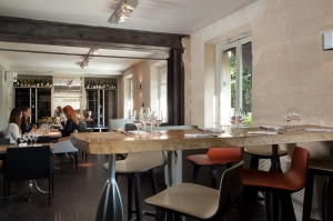 Salle de restaurant à l'étage © David Grimbert