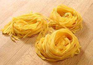 Tagliatelle fraîches via zenzen.damour.over-blog.com