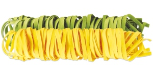 Tagliatelle paille et foin via pastamontegrappa.com