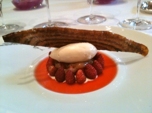 Arlette caramélisée aux fraises © Blandine Vié
