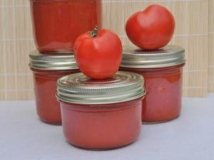Bocaux de coulis de tomates via la-recette-de-cuisine.com