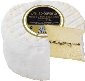 Brillat-Savarin à la truffe blanche via sirha.com