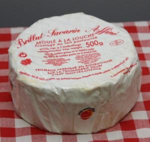 Brillat-Savarin via boutique.fromagerie-Mauron.fr